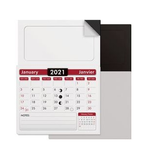 "Blank Magnet with Calendar Pad Combination (2""x3.5"")"
