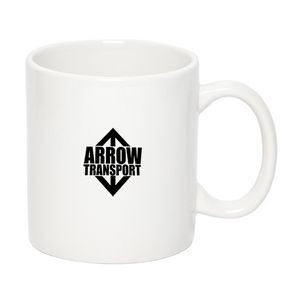 450 Ml. (15 Oz.) 'c' Handle Two-Tone Mug